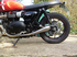 Street Twin 900 Exhausts Weslake Powercone  (Mk 1) Slip On Brushed Stainless Steel. 2016on.